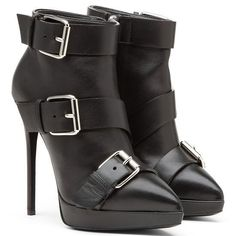 Giuseppe Zanotti Fall 2014 Collection - black boots
