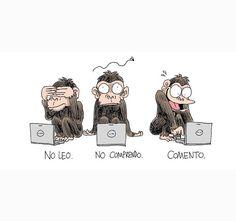 No leo. No comprendo. Comento. #humor #risa #graciosas #chistosas #divertidas