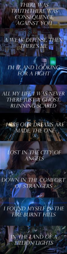 clarastardis:  City of Angels by 30 Seconds To Mars