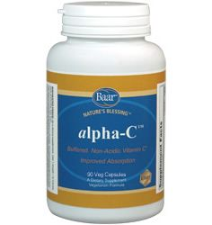 alpha-C™ contains the vitamin C metabolite, Threonic Acid, which has been shown to enhance cellular uptake of vitamin C. This buffered, non-acidic supplement also contains Alpha-Lipoic Acid, an antioxidant that may further enhance the body's use of Vit. C. The addition of Bioflavonoids as synergists helps to enhance absorption, protecting the body's cells & molecules from damage by free radicals. Flavonoids exhibit beneficial effects on capillary permeability & therefore support blood flow.