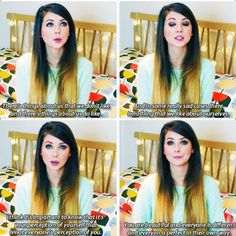 Zoella quote ~my absolute favourite~