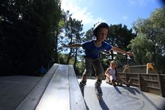 Animations et activités - skate parkCamping 4 étoiles bretagne sud, finistère avec piscine couverte