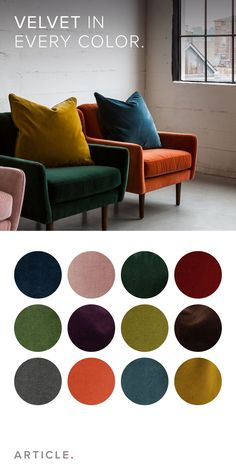 Mix and match: the Matrix chair now comes in we colors, and we've added a throw pillow to go along with it.