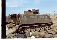 Armoured Personnel Carrier, Vietnam War Photos, Nose Art, Apc, You Funny, Police Officer, Historical Photos, High Quality Images, Trauma