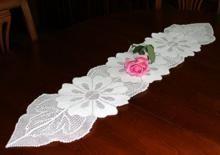 Easy Table crochet Runner pattern  | Daisy Table Runner - Free Patterns - Download Free Patterns