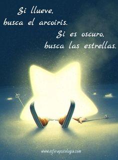 #arcoiris #estrellas #frases
