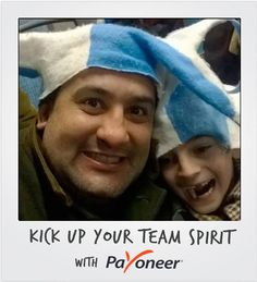 Submission for the Payoneer Kick Up Your Team Spirit- good luck to all of you participating in the World Cup! #TeamSpirit