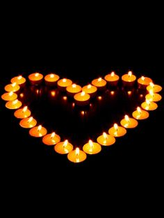 My Funny Valentine, Valentines Day, Dad In Heaven, Romantic Candles, Romantic Ideas, Romantic Night, Romantic Things, I Love Heart, Heart Pics