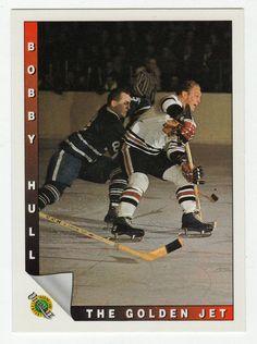 Bobby Hull # 89 - The Point Race - 1991-92 Upper Deck Ultimate Original Six Hockey