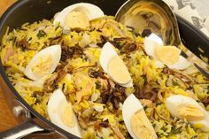 Kedgeree. http://cindyduffield-cookingthebooks.co.uk/smoked-salmon-hake-kedgeree/
