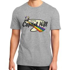Seattle Stompin' Grounds: Capitol Hill Unisex District T-Shirt