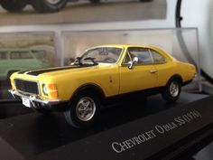 Chevrolet Opala SS 1976 (from Carros Inesquecíveis do Brasil by Planeta DeAgostini)