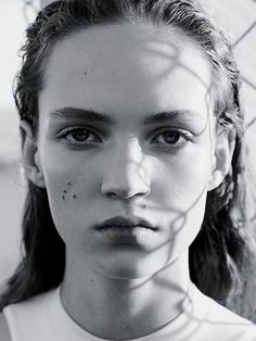 T Magazine Women's Fashion Spring 2015 Photographer: Karim Sadli Styling: Joe McKenna Hair: Damien Boissinot Makeup: Christelle Cocquet Model: Adrienne Jüliger & Aya Jones