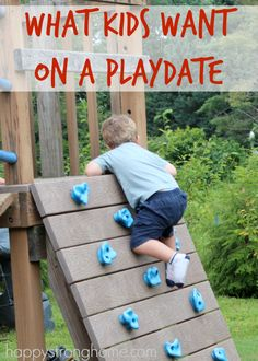what kids want on a playdate - ideas for activities that let kids just have fun and get #outtoplay - keep it simple, mom! They'll have the Best. Time. Ever! @CLIFBar #sponsored