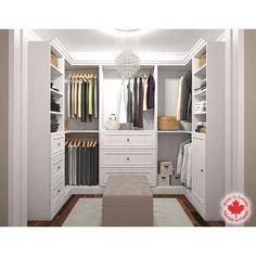 Costco: Bestar - Organize It - U-Shape Closet - White