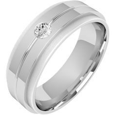 A stylish Round Brilliant Cut diamond set mens ring in 18ct white gold from London family run jewellers, Purely Diamonds, www.purelydiamonds.co.uk