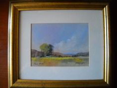 Paul Botes Original Pastel All Over The World, Pastel, The Originals, Frame, Artist, Artwork, Collection, Picture Frame, Cake