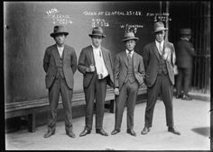 "homas craig, raymond neil (aka ""gaffney the gunman""), william thompson and fw wilson, january 25, 1928, the sydney justice & police museum @ twistedsifter"