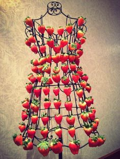 I Made this Strawberry Dress for a Wedding Expo