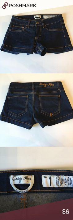 Cute dark blue jean shorts.(New) (New) Indigo Rein Shorts Jean Shorts