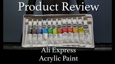 In this video, I take an in-depth look at some acrylic paints I ordered from Ali Express and tell you if I think they are worth the price compared to what I . Product Review, Artist At Work, My Works, Dollar Stores, Painting Inspiration, Ali, About Me Blog, Make It Yourself, Watch