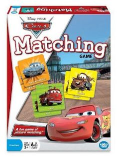 This Disney Cars Matching Game by Pixar is perfect! Disney Cars Games, Disney Cars Characters, Disney Cars Movie, Disney Toys, Disney Fun, Disney Prices, Games For Boys, Thing 1, Best Kids Toys