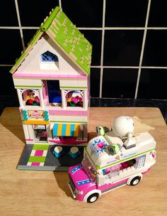 Lego modular ice-cream shop | Flickr - Photo Sharing!
