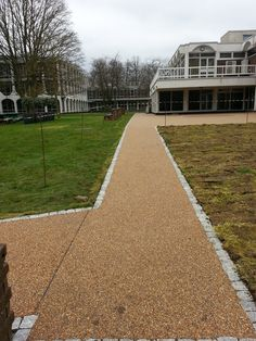 resin bound paving for commercial paths by pps-uk