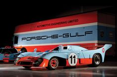 Part of the ROFGO Gulf Collection owned by Roald Gothe. 1997 McLaren F1 GTR Longtail