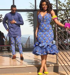 African Pre-wedding Photoshoot Pictures 2019 - Reny styles African Pre-wedding Photoshoot Pictures A pre-wedding photo-shoot, generally referred to as an assurance shoot, is a photo shoot that usually take. Couples African Outfits, Couple Outfits, African Attire, African Wear, Latest African Fashion Dresses, African Print Dresses, African Print Fashion, African Dress, Ankara Fashion