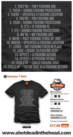 Grammar Nazi Shirt. 16 is HILARIOUS hahahaha apparently could of isnt proper?