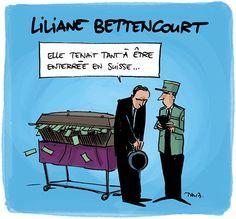 Liliane es-tu là ?