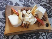 The Cheese Poet in #lndont makes beautiful boards...Thanks Erin for all your support + love! http://www.thecheesepoet.ca/cater.jpg