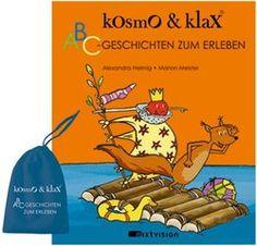 Alexandra Helmig / Marion Meister: Kosmo & Klax. ABC-Geschichten zum Erleben. Mixtvision Verlag. #kinderbuch #erlebnisbuch #bilderbuch #alphabet