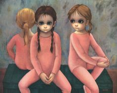 / The Ballet Class | by Margaret Keane | 1963 /