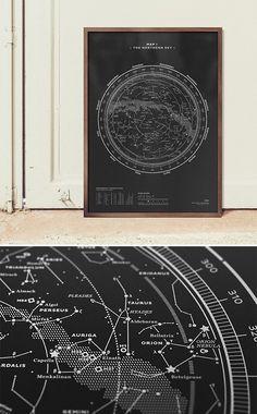 Stellar Map Silkscreen Prints