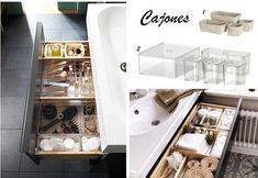 Ideas para organizar tu cuarto de baño