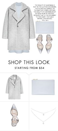 """""""No regrets"""" by theapapa ❤ liked on Polyvore featuring MANGO, Whistles and Miu Miu"""