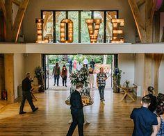 The atrium at The Mill Barns wedding venue in Shropshire | CHWV