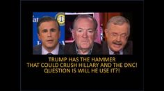 Trump Has The Hammer That Can Crush Clinton And The DNC! Question Is Wil...