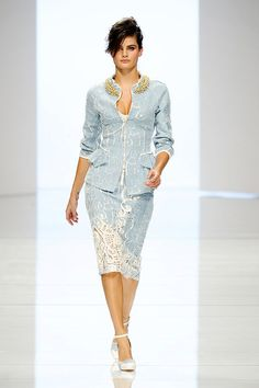 Isabeli Fontana First Face Of ERMANNO SCERVINO — Spring 2012