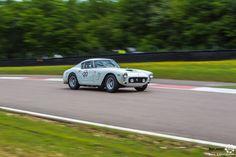 #Ferrari #250 GT SWB au Grand Prix de l'Age d'Or. #MoteuràSouvenirs Reportage complet : http://newsdanciennes.com/2016/06/06/jolis-plateaux-beau-succes-grand-prix-de-lage-dor-2016/ #ClassicCar #VintageCar