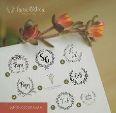 Monograma Diversos Modelos