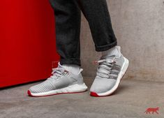 size 40 d5754 87e7e adidas EQT Support 9317 Red Carpet Pack Grey