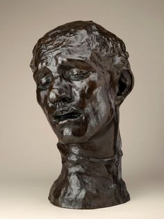 Monumental Head of Pierre de Wissant Date: Modeled circa 1884–1885, enlarged circa 1909, Musée Rodin cast 1980 Artist: Auguste Rodin  Gift of the Iris and B. Gerald Cantor Foundation