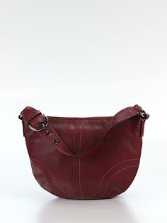 Check it out—Coach Leather Shoulder Bag for $109.49 at thredUP!