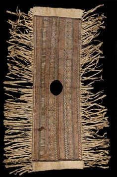 Object: Tiputa (Poncho) | Collections Online - Museum of New Zealand Te Papa Tongarewa