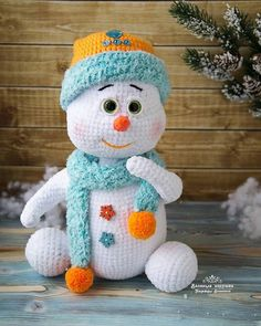 Автор фото @bianova.toys - подписывайте свои фото тегом #weamiguru, лучшие попадут в нашу ленту! #amigurumi #crochet #knitting #cute… Crotchet Patterns, Crochet Amigurumi Free Patterns, Crochet Animal Patterns, Stuffed Animal Patterns, Crochet Dolls, Crochet Animals, Crochet Fabric, Crochet Scarves, Crochet Hats