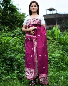 Traditional Fashion, Traditional Dresses, Indian Ethnic, Indian Girls, Indian People, Bodo, Pinterest Fashion, Western Outfits, Occasion Wear
