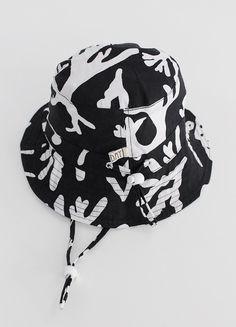 Bucket Hat - Black Coral